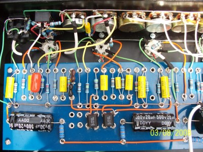 Preamp circuit