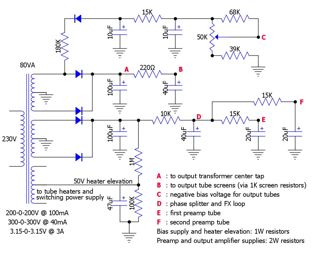 switching power supply schematics  | diy-fever.com