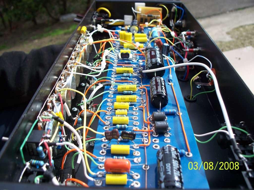 pix of Custom built guitar amps/cabs