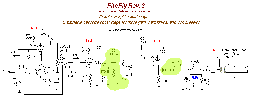 amps u003e ax84 firefly diy fever building my own guitars amps and rh diy fever com Firefly Habitat Serenity Ship