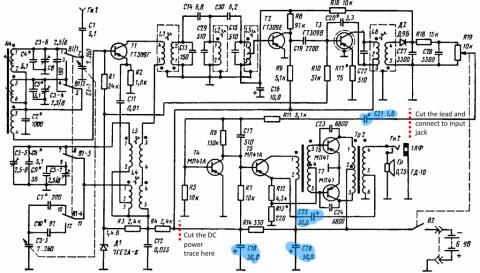 Neywa 402 schematic