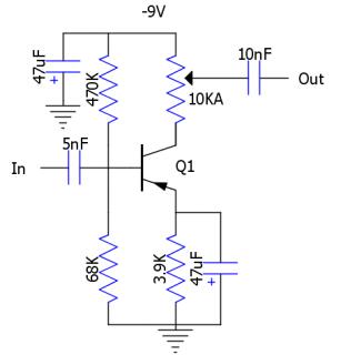 Rangemaster schematic