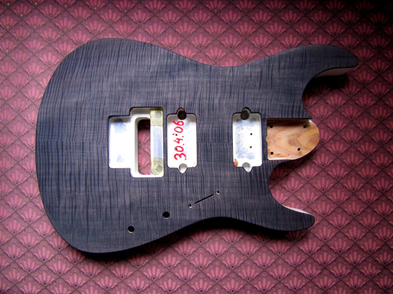 Staining Guitar Tops Diy Fever