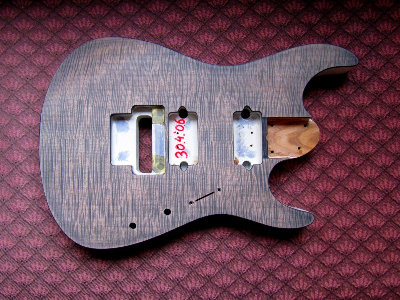 guitars staining guitar tops diy fever building my own guitars amps and pedals. Black Bedroom Furniture Sets. Home Design Ideas