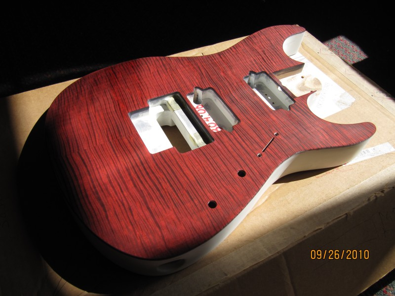 Guitars Gt Staining Guitar Tops Diy Fever Building My