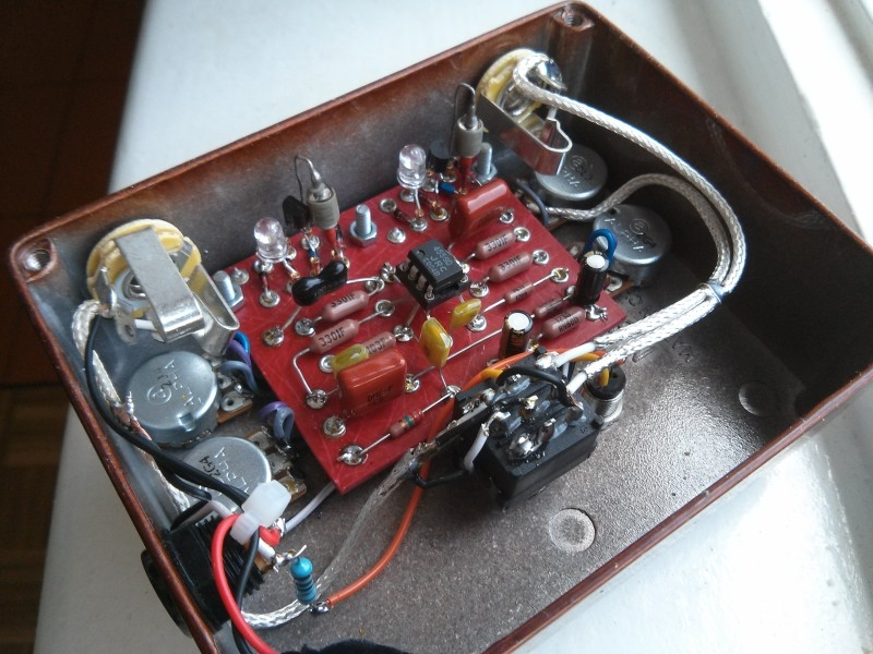 Effects  U0026gt  The Ultimate Overdrive   Diy Fever  U2013 Building My