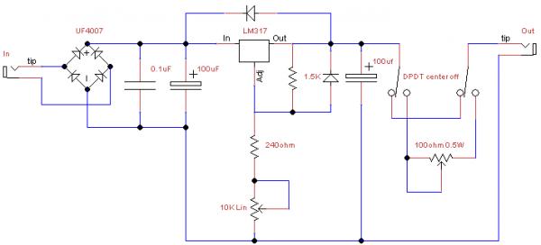 VVR Supply Schematic