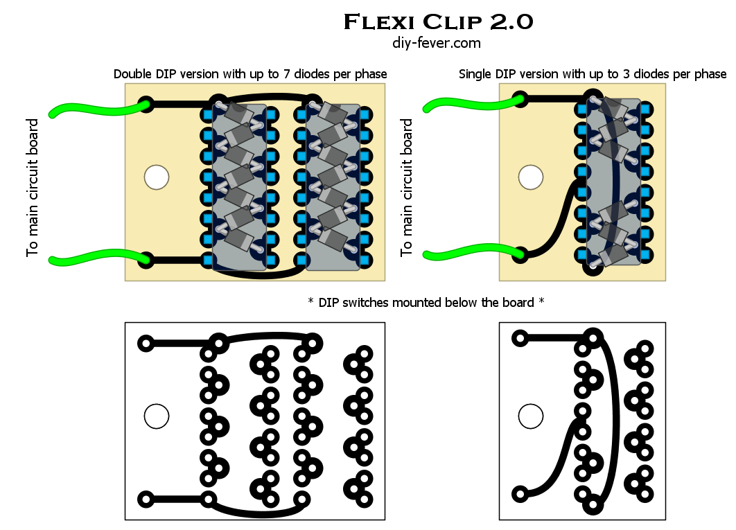 Flexi Clip Diy Fever Guitar Circuits And Schematics Fuzzi Amps Other Effects Pdf Layout File To See This Circuit