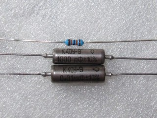 Russian PIO capacitors