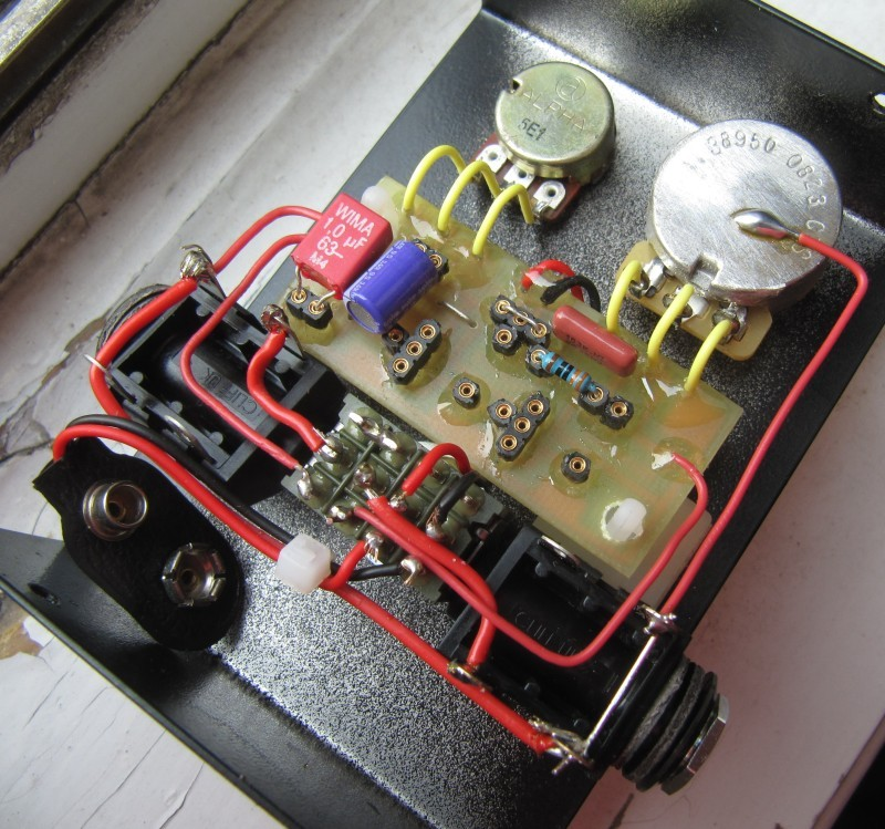 fuzz_guts effects \u003e fuzz face revisited diy fever building my own fuzz face wiring diagram at webbmarketing.co