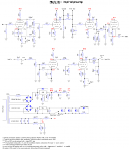 Mesa Mark IIc+ Schematic