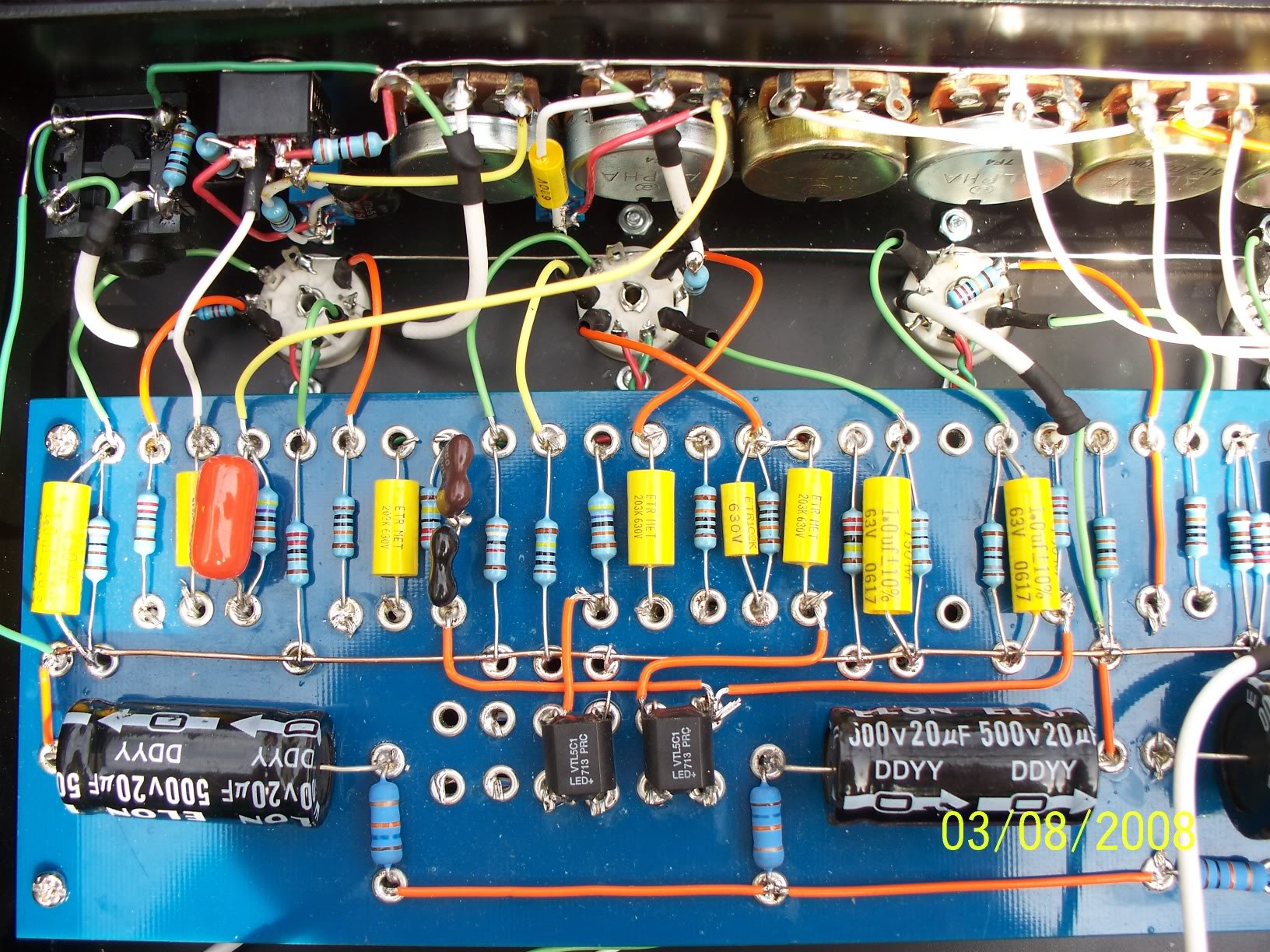 5w Soldano Slo Diy Fever Circuits Gt Making A Homemade Power Amplifier Pcb Layout Included Preamp Circuit