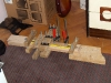 Truss rod in press