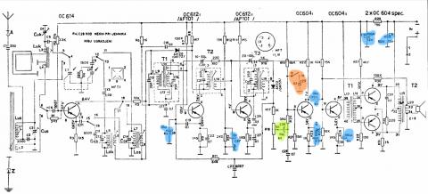 RR 220-T schematic