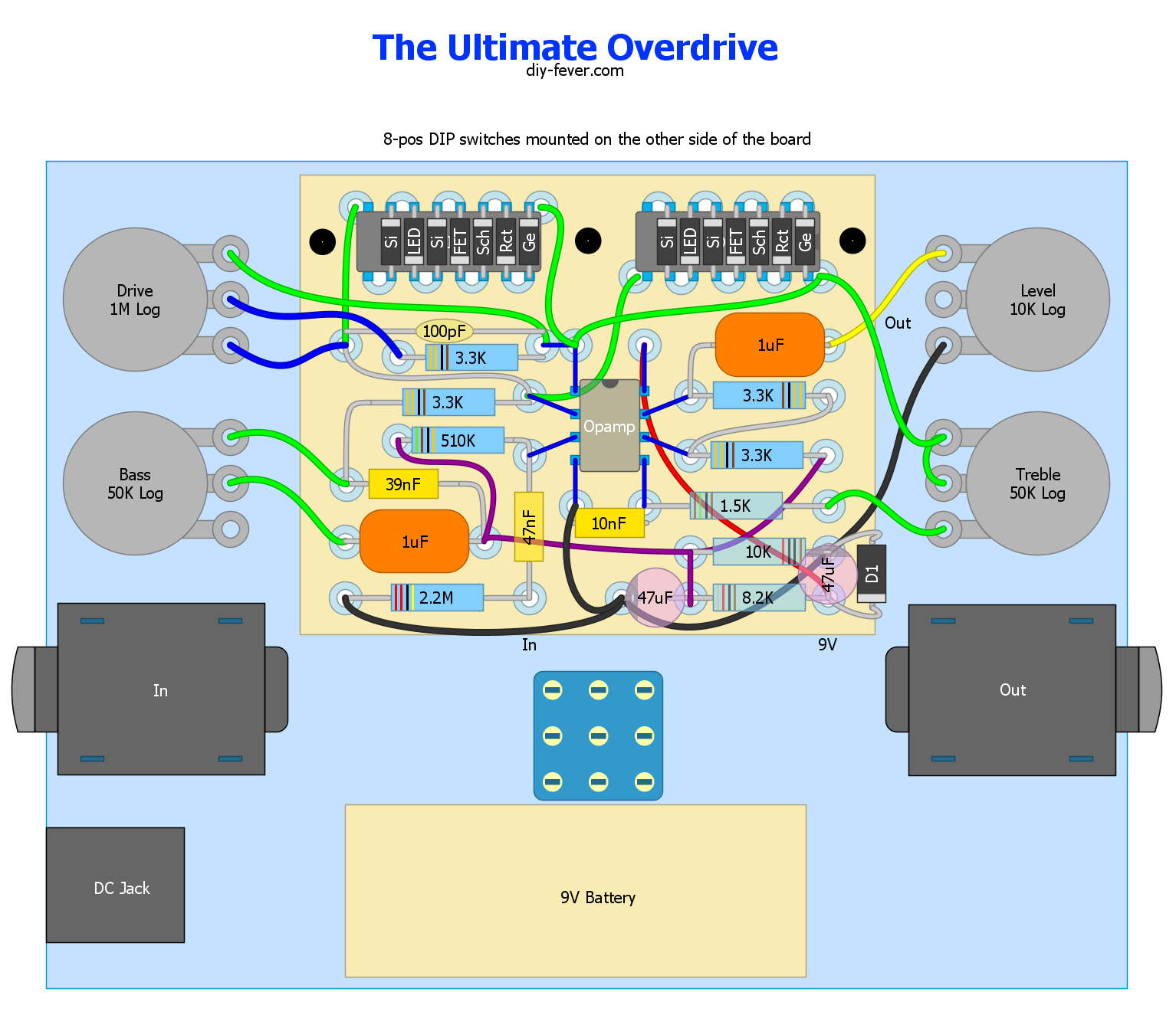 Ultimate Eq Wiring Diagram Library 7 Band Equalizer Overdrive Schematic Layout