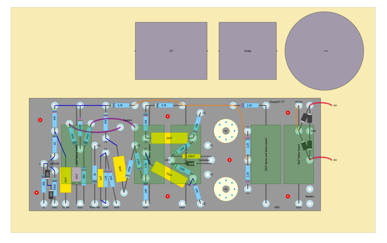 3w Tube Power Amp Diy Fever Induction Heater Circuit Diagram Pdf Moreover Schematic V3 Nan Layout